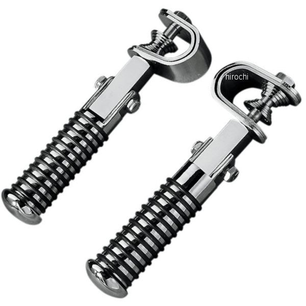 Drag Specialities Sundance Footpegs for Highway / Crash Bars, Motorcycle Accessories - Fat Skeleton UK