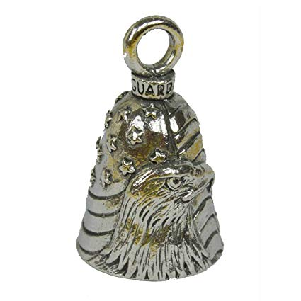 American Bald Eagle Guardian Angel Bell, Lifestyle Accessories - Fat Skeleton UK