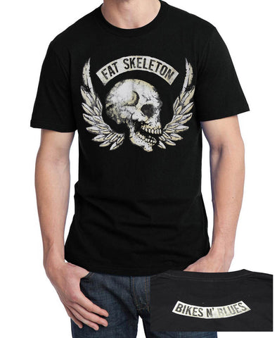 Fat Skeleton Bikes & Blues Festival T Shirt