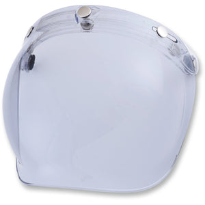 AFX Flip Front Old School Bubble Visor Clear Finish, Helmet Visors - Fat Skeleton UK