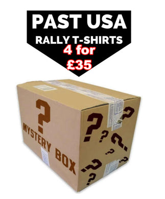 Mystery Box Past Event USA Rally T Shirts
