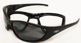 Freedom Removable Foam Padded Sunglasses, Eyewear - Fat Skeleton UK