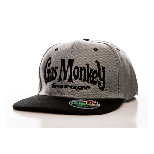 Gas Monkey Garage logo 2 tone adjustable snap back cap