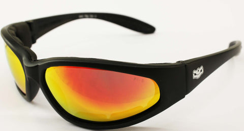 Grand Tour Foam Padded G Tech Red Lens, Eyewear - Fat Skeleton UK