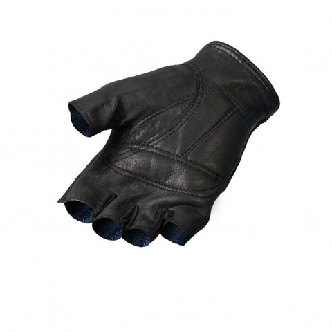 Leather Deerskin Fingerless Gloves