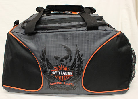 "Genuine Harley Davidson ""Legend"" Duffle Bag, Accessories - Fat Skeleton UK"