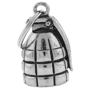 Hand Grenade Guardian Angel Bell, Lifestyle Accessories - Fat Skeleton UK