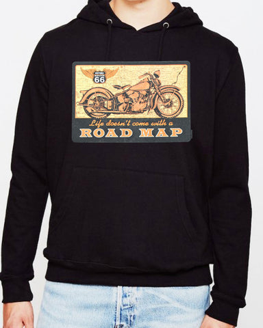 Offer - Route 66 Life Road Map HOODIE