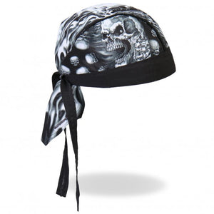 Assassin Skull Pre-Tied Zandana - Bandana, Clothing Accessories - Fat Skeleton UK