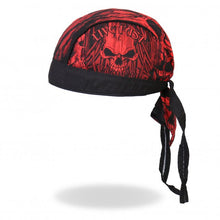 Live Fast Ride Hard Skull Pre-Tied Zandana - Bandana, Clothing Accessories - Fat Skeleton UK
