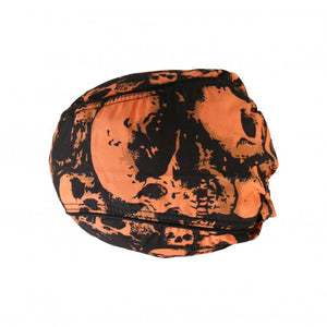 Ancient Skull Skulls  Pre-Tied Zandana - Bandana, Clothing Accessories - Fat Skeleton UK