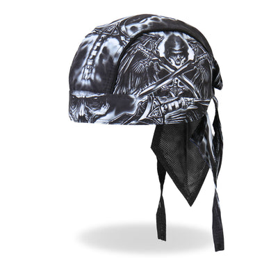 Death Wing Pre-Tied Zandana - Bandana, Clothing Accessories - Fat Skeleton UK