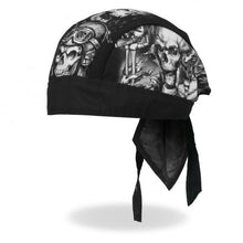 5 Smokin' Skulls Skull Pre-Tied Zandana - Bandana, Clothing Accessories - Fat Skeleton UK