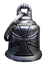 NEW Iron Cross Guardian Angel bell, Lifestyle Accessories - Fat Skeleton UK