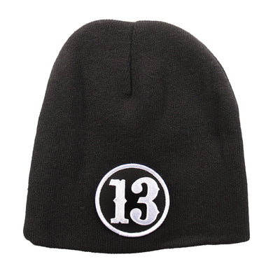 Lucky 13 Beanie, Clothing Accessories - Fat Skeleton UK