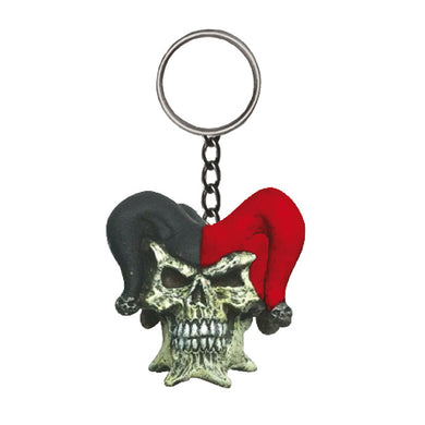 Jester Key Ring by Skullptures