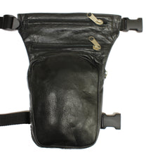 Leather Leg / Waist Bag, Clothing Accessories - Fat Skeleton UK