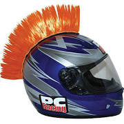 ORANGE Helmet Mohawk, Helmet - Fat Skeleton UK