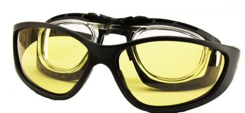 Prescription Rider Eyewear-Yellow to Dark
