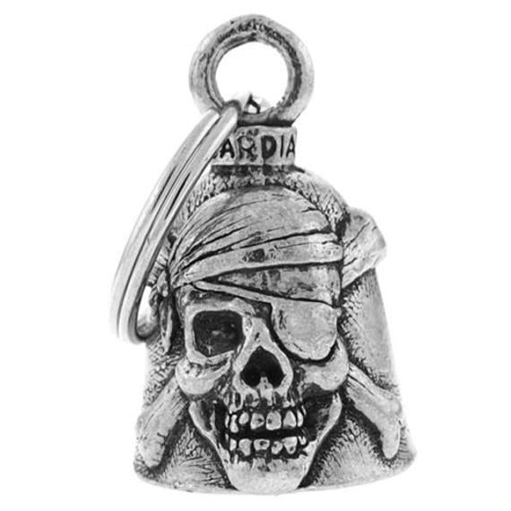 Pirate Skull Guardian Angel Bell, Lifestyle Accessories - Fat Skeleton UK