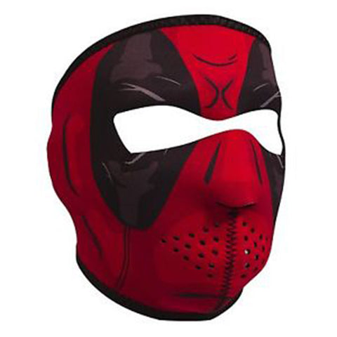 "Red Dawn ""Dead Pool"" Full Face Neoprene Mask, Face Masks - Fat Skeleton UK"