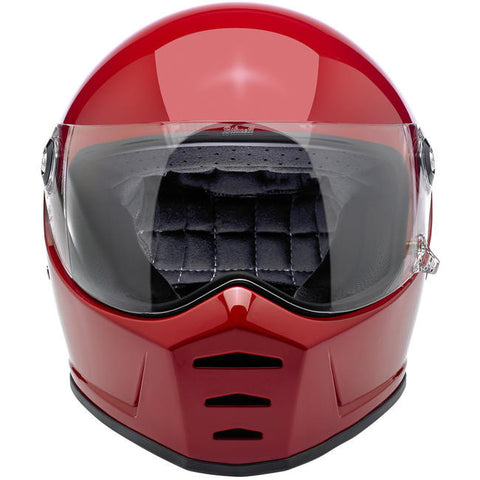 Biltwell Lane Splitter Gloss Blood Red Full Face Helmet