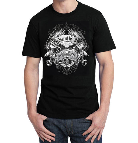 Freedom of the Road Chopper T Shirt