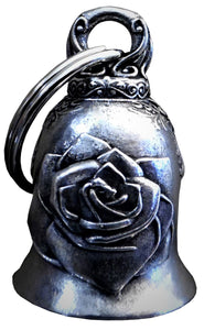 3D Single Rose Design Bell Guardian Gremlin, Lifestyle Accessories - Fat Skeleton UK