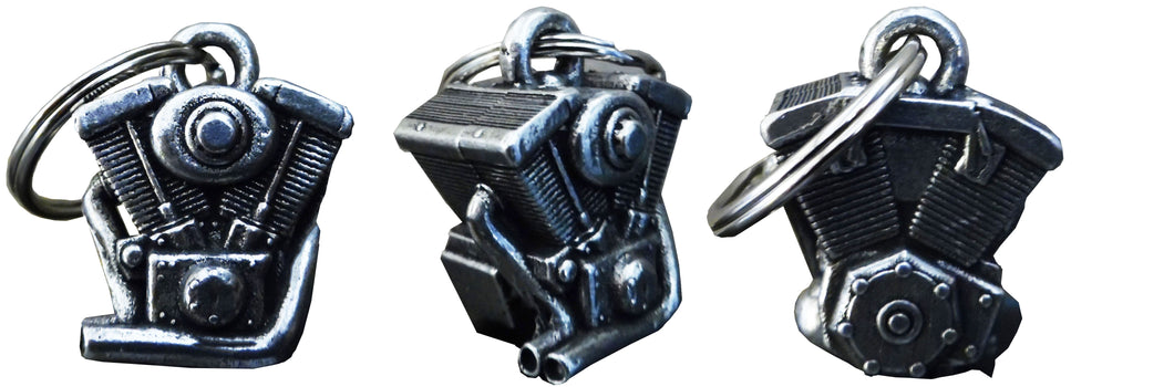 3D V Twin Engine Bell Guardian Gremlin, Lifestyle Accessories - Fat Skeleton UK