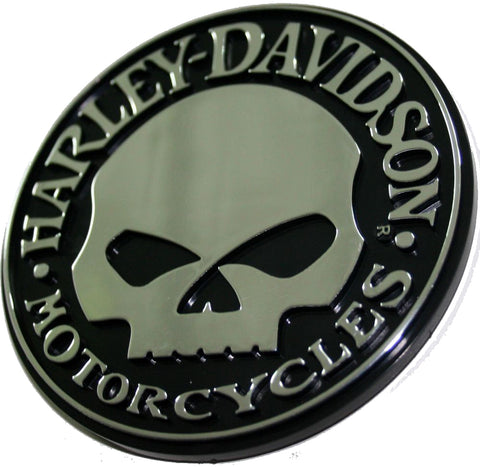 Genuine Harley Davidson 3D Willie G Skull logo