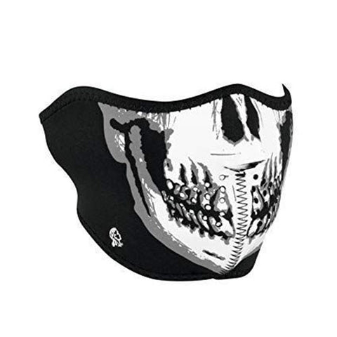 Skull Neoprene Half Face Mask