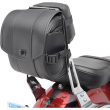 All American Rider Deluxe Sissy Bar Bag / Rear Tool Roll, Motorcycle Accessories - Fat Skeleton UK