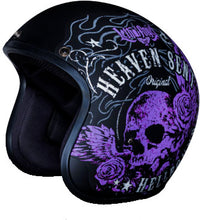 Daytona Heaven Sent Low Profile D.O.T. Open Face Helmet Matt, Open Face Helmets - Fat Skeleton UK