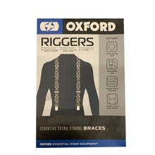 Skull Design Rider Braces Riggers by Oxford Products