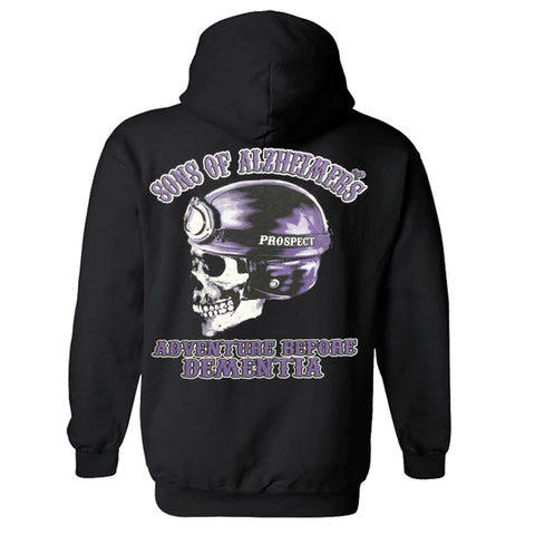 "Sons of Alzheimer's Prospect 'ADVENTURE BEFORE DEMENTIA' ""Charity"" Hoody"