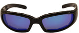 Fat Skeleton So Cal EVA Foam Padded G Tech Blue Lens Sunglasses
