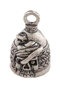 Serpentine Skull Angel Guardian Angel  Bell, Lifestyle Accessories - Fat Skeleton UK