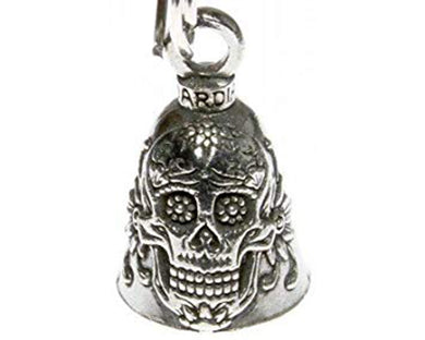 Sugar Skull Guardian Bell, Lifestyle Accessories - Fat Skeleton UK