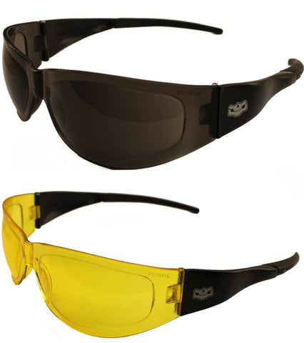 Fat Skeleton Volusia Petite Fit Rider Sunglasses Limited Twin Pack Bundle Offer