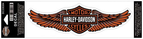 Medium Genuine Harley Davidson Wings Bar & Shield logo sticker