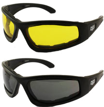 Fat Skeleton Wyoming EVA Foam Padded Reactalite Yellow to Dark, Eyewear - Fat Skeleton UK