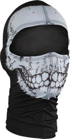 Zan Under Helmet Skull Design Balacalava, Face Masks - Fat Skeleton UK