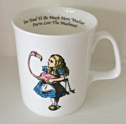Simply Alice Mug - Alice & The Flamingo