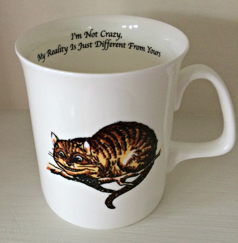 Simply Alice Mug - Cheshire Cat