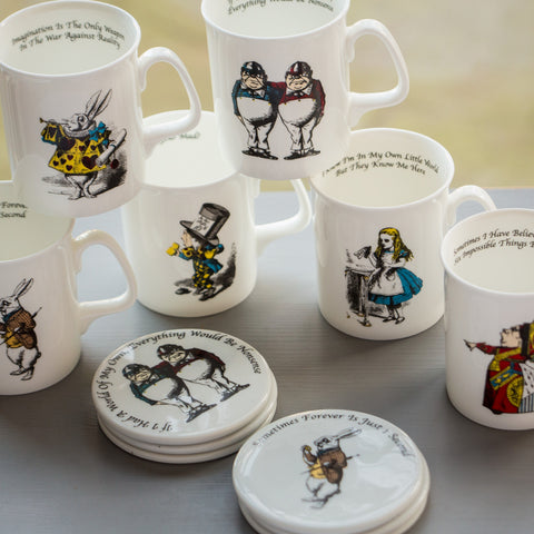 Full Set of Mugs and Coasters