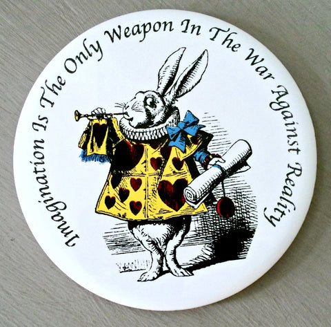 Alice In Wonderland Ceramic Coaster - The Herald