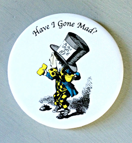 Alice In Wonderland Ceramic Coaster -  The Mad Hatter