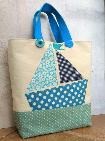 Sailboat Button Shopper