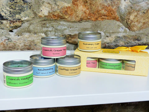 Cornish Inspirations Scented Candle Trio