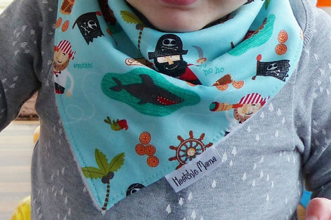 Baby Bandana Bib (Pirates)